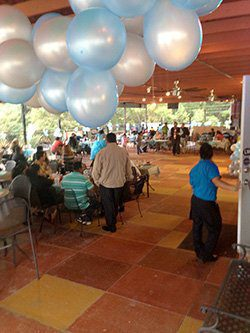 La Chalupa - Reception Under Covered Patio